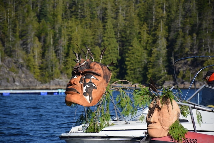 Qaamina Hunter masks